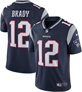 Nike Men's New England Patriots #12 Tom Brady Navy Vapor Untouchable Limited Jersey Navy