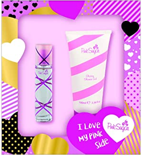 Pink Sugar Pink Sugar 2-pc set Eau de Toilette 1.0 Oz + Glossy Shower Gel 3.4 Oz, 1 fl. oz.