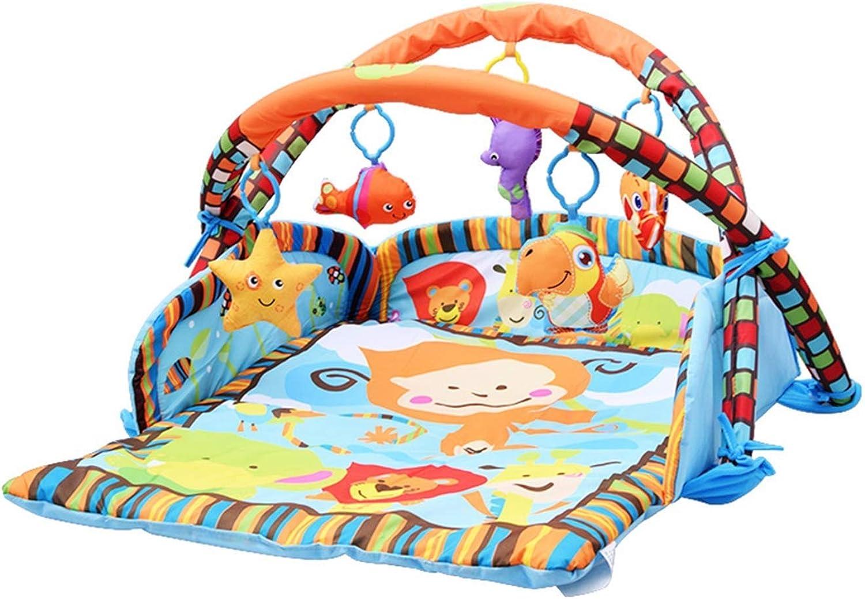 YFQ Babyspieldecke Krabbeln Matte Verdickung Gamepad Fitness Rack Multifunktionale Kinderzimmer Dekoration Früherziehung Spielzeug Gehirn Entwicklung