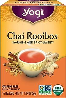 Yogi Tea - Chai Rooibos (6 Pack) - Warming and Spicy Sweet - 96 Tea Bags