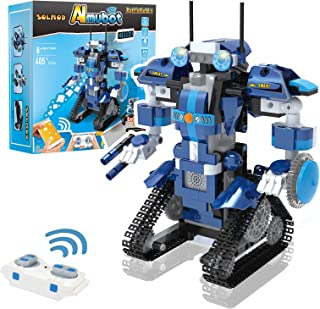Robot Building Kit, Remote and APP Controlled STEM Projects for Kids - 405 Pieces Building Toys for Boys and Girls Ages 8+