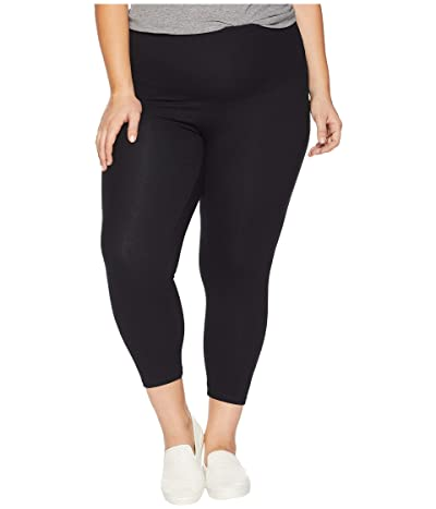 Yummie Plus Size Gloria Skimmer Leggings (Black) Women