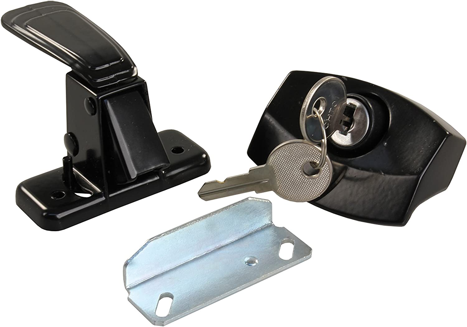 JR Direct sale of manufacturer Products 11675 Black Locking Camper Door Beauty products Latch
