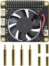 Geekworm Raspberry Pi(ラズベリーパイ) 冷却ファン拡張ボード (X728-A1) 、 X728 & Raspberry Pi 4 Model B/ 3B+/ 3B/ 2Bに適用