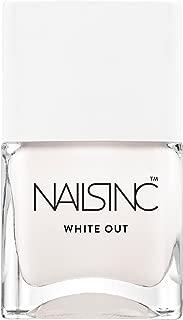 Nails Inc Bright Ambition Nail Polish, White Out