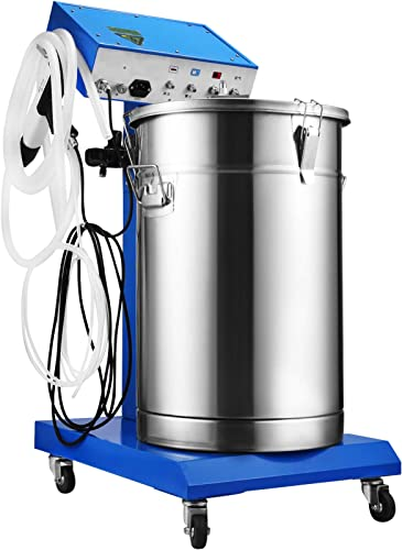 wholesale Mophorn 50W 45L Electrostatic high quality Powder Coating Machine with Spraying Gun Paint 450g Per Minute WX-958 Powder Coating System 2021 (50W 45L) outlet online sale