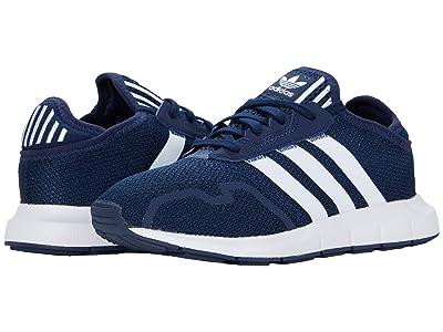 adidas Originals Kids Swift ESS C (Little Kid) (Collegiate Navy/Footwear White/Core Black) Boys Shoes