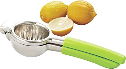 Cook N Home 02447 Manual Lemon/Citrus Hand Juicer Squeezer, with Silicone removable handle