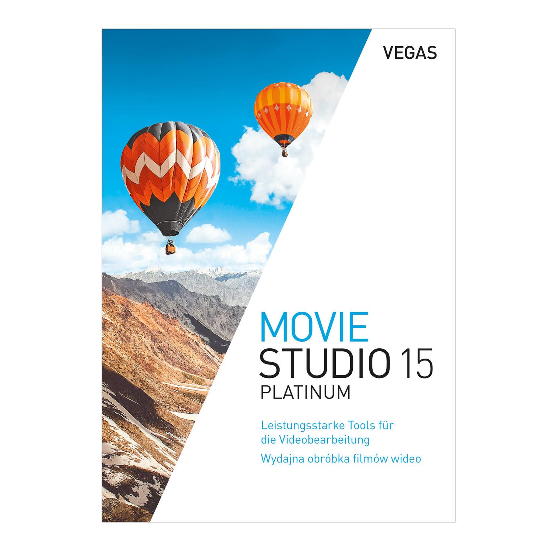 VEGAS Movie Studio 15 Platinum [Online Code]
