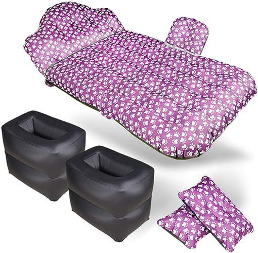 LLVV Couche multifonctionnelle de Voyage de lit Gonflable de lit de Matelas à air de Voiture s'assemblant Coussin de flottement de Plage de Camping en Plein air de Camping