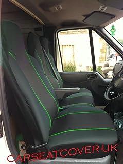 Ford Transit Custom 2016 en Van Fundas De Asiento Camuflaje Camo Verde Heavy Duty 2-1
