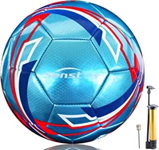 Senston Soccer Ball for Kids and Adult Training Ball Size...