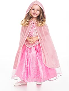 Little Adventures Traditional Hooded Princess Cloaks (Pink, L/XL Age 5-9)