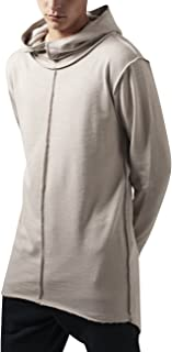 Urban Classics Long Slub Terry Open Edge Hoody Felpa Uomo