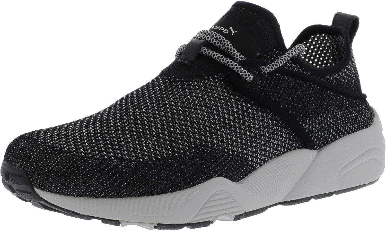 PUMA Men's X Stamp Trinomic Woven Ankle-High Fabric Fashion Sneaker