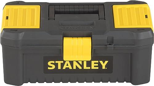 Stanley Stst1-75514 Classic Line Boîte À Outils - 2 Organiseurs Sur Le Couvercle - Plateau Porte-Outils - Charnières ...