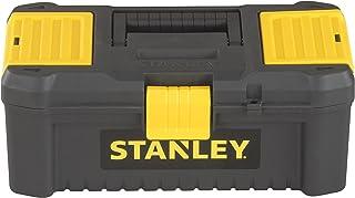 Stanley Kunststof gereedschapskist met kunststof sluitingen en organizers, incl. een uitneembare draag) Kunststof sluitin...