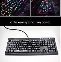 104 Keys ET Alien Backlit Keycap for Corsair K65 K70 RGB LUX K95 Platinum Strafe Razer Punisher Black Widow Mechanical Key...