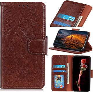 RanTuo Phone Case for Samsung Galaxy M21 2021, with Card Slots, Bracket, TPU + PU Leather, Flip Case Cover for Samsung Gal...