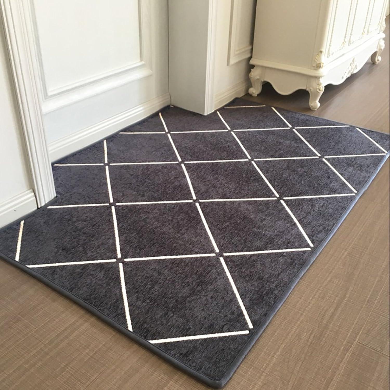 Indoor mat Entrance Door mats Lobby Lounge mat Bedroom Nordic Style mat Modern Minimalist pad-C 50x120cm(20x47inch)