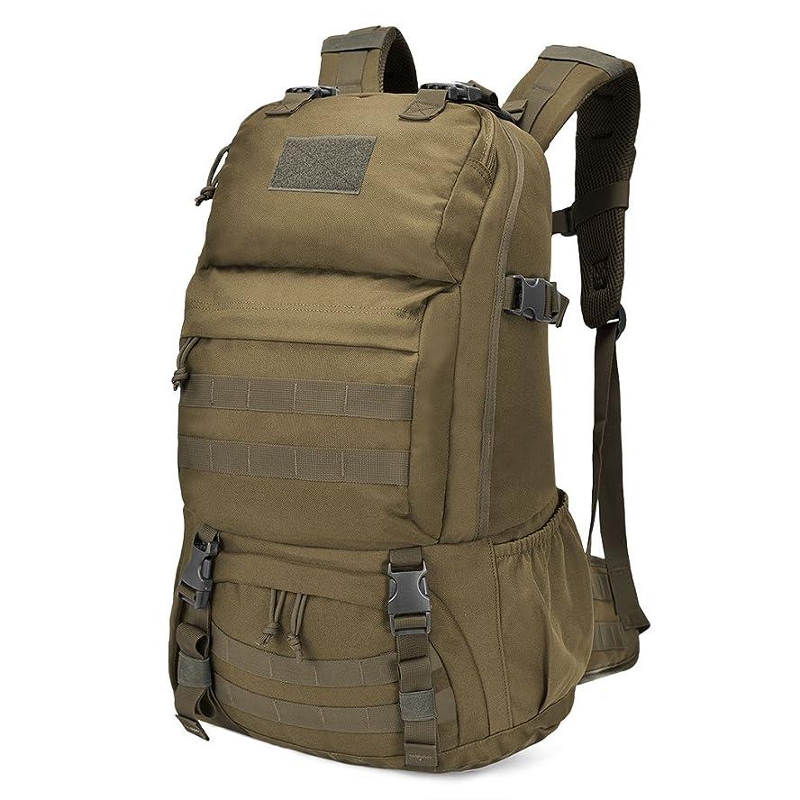 主要なまだらはっきりしないMardingtop 40L/60L ミリタリー リュック 大容量 タクティカル バックパック 軽量 鞄 MOLLE 対応 軍用 リュックサック 登山 キャンプ トレッキング 旅行