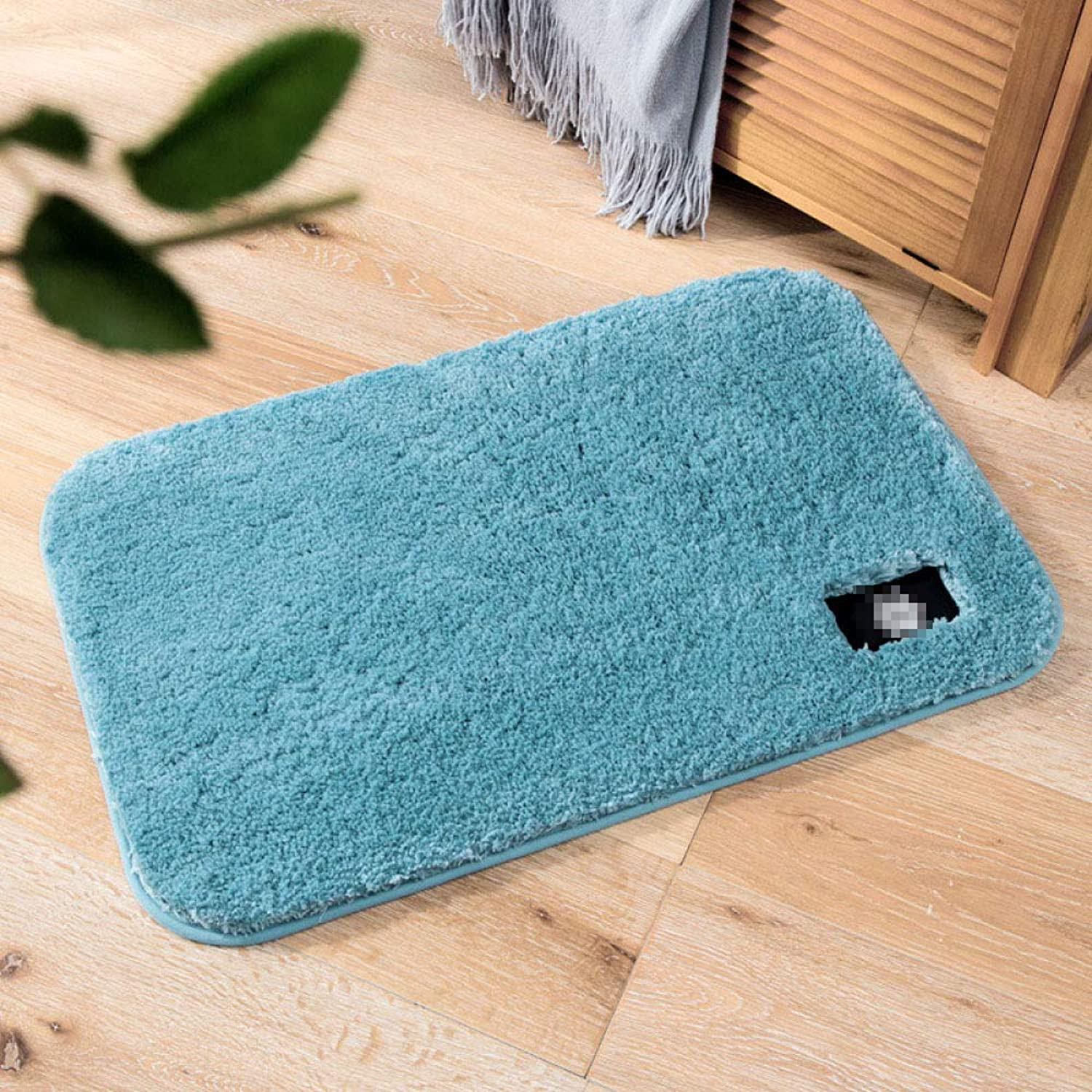 Nordic Thick Plush Floor Bedroom Door Mat Bathroom Absorbing Carpet Bathroom Door Moisture-Proof Mat,1-50  60cm
