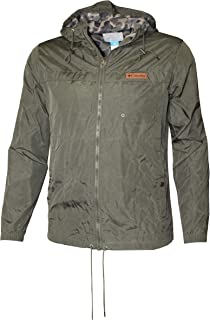 Columbia Men's Cypress Crossing Lightweight Water Resistant Windbreaker Hooded Jacket