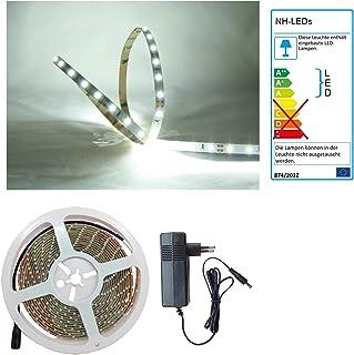 Set de Tiras de LED Rojo 8m, Incluye Transformador con PCB DELLOPTOELECTRONICS Color Blanco