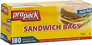 Pro Pack Sandwich Bags, 180 Count