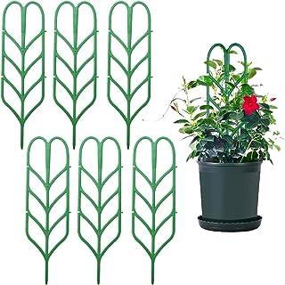 Escalades en Forme de Feuille Support pour Plantes grimpantes patios Fleurs Treillis pour Plantes en Pot vignes Cozyhoma Treillis de Jardin