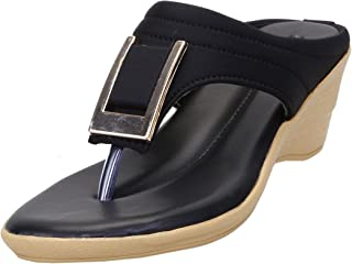 CatBird Womens and Girls Faux Leather Wedges,Women Wedges,Girls Wedges, Wedges,Lightweight Wedges