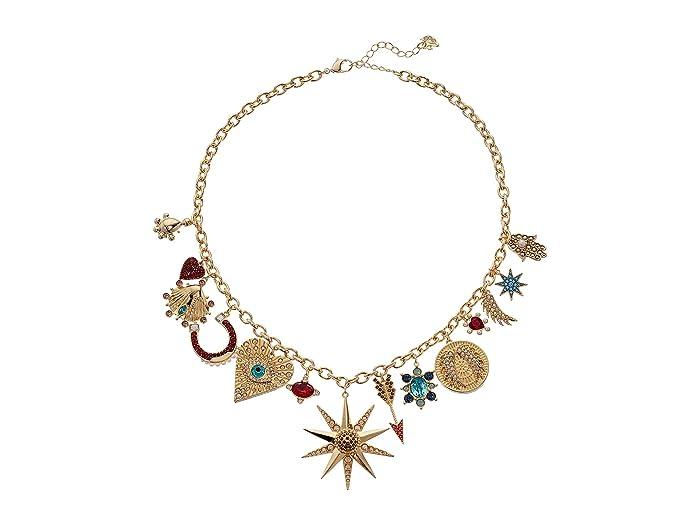 bb978ddd409e67 Swarovski Lucky Goddess Charms Necklace at Zappos.com