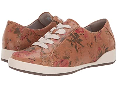 Dansko Orli (Tan Floral Leather) Women