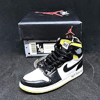 5819883edb10 Air Jordan 1 I High Retro NRG Not For Resale Yellow OG Sneakers Shoes 3D  Keychain