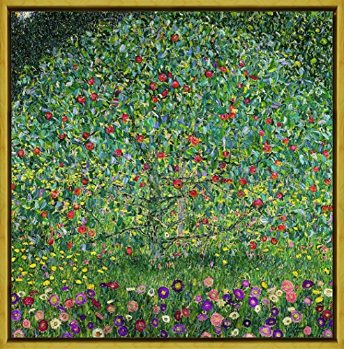 Berkin Arts Rahmen Gustav Klimt Giclée Leinwand Prints Gemälde Poster Reproduktion(Apfelbaum)