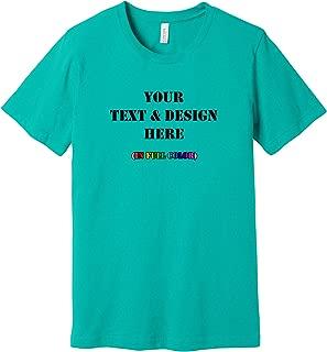 bella canvas custom t shirts