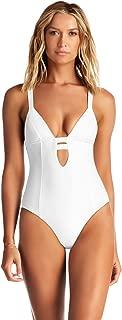 Women's Black Ecolux Neutra Maillot One Piece Plunge Swimsuit