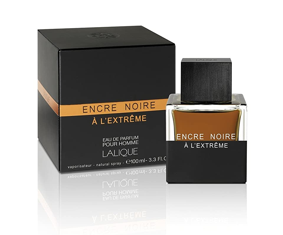 ハブブ疑い者国民Lalique Encre Noire A L'Extreme 100ml/3.3oz Eau De Parfum Perfume Spray for Men