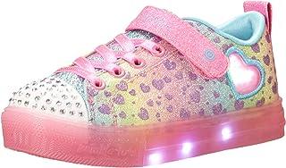 Skechers Kids Girl's Twinkle Toes - Shuffle Brights Heartbursts 314255L (Little Kid)