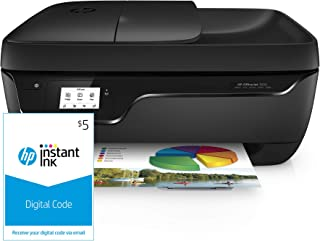 $84 » HP OfficeJet 3830 All-in-One Wireless Printer, HP Instant Ink & Amazon Dash Replenishment ready (K7V40A) and Instant Ink $5 Prepaid Code