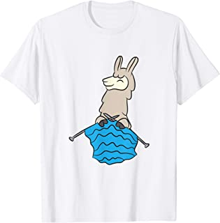 Joli lama en tricot Crochet Lama Cadeau en tricot pour les T-Shirt