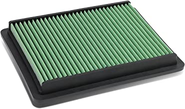 For Acura TL/TSX V6/Honda Accord Crosstour Reusable & Washable Replacement Engine High Flow Drop-in Air Filter (Green)