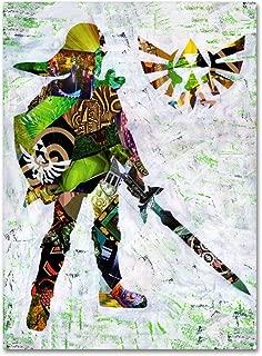 Zelda 4 by Artpoptart, 18x24-Inch Canvas Wall Art