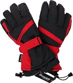 Women's ThinsulateInsulation Lining Water Resistant Ski Gloves
