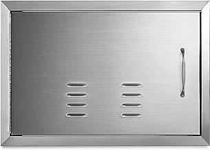 Mophorn 14 x 20 Inch BBQ Access Door Vents Horizontal Island Door Stainless Steel Single Door Outdoor Kitchen