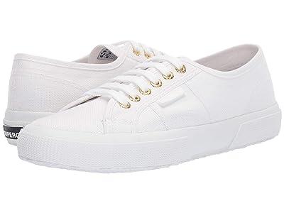 Superga 2750 COTU Classic Sneaker (White/Gold) Women