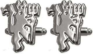 Manchester United Chrome Cufflinks