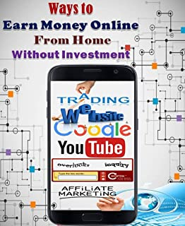 Ways to Earn Money Online From Home Without Investment
