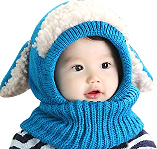 IMLECK Magnificent Baby Unisex-Warm Puppy Cloak Scarf Shawl Baby Infant Smart Hat - 2019 Best Gift in USA