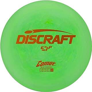 Discraft ESP Comet Mid Range Golf Disc, Colors May Vary